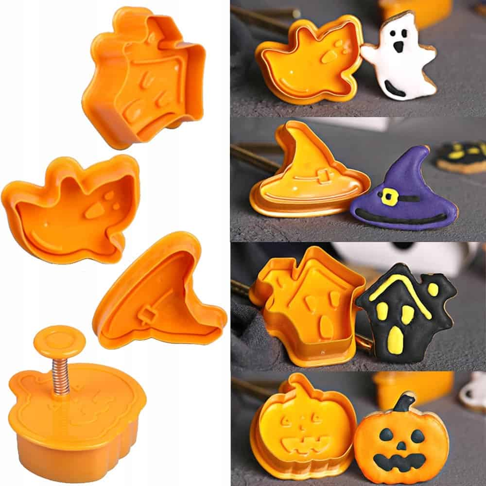 Plastic Cookie Cutter And Cake Molder